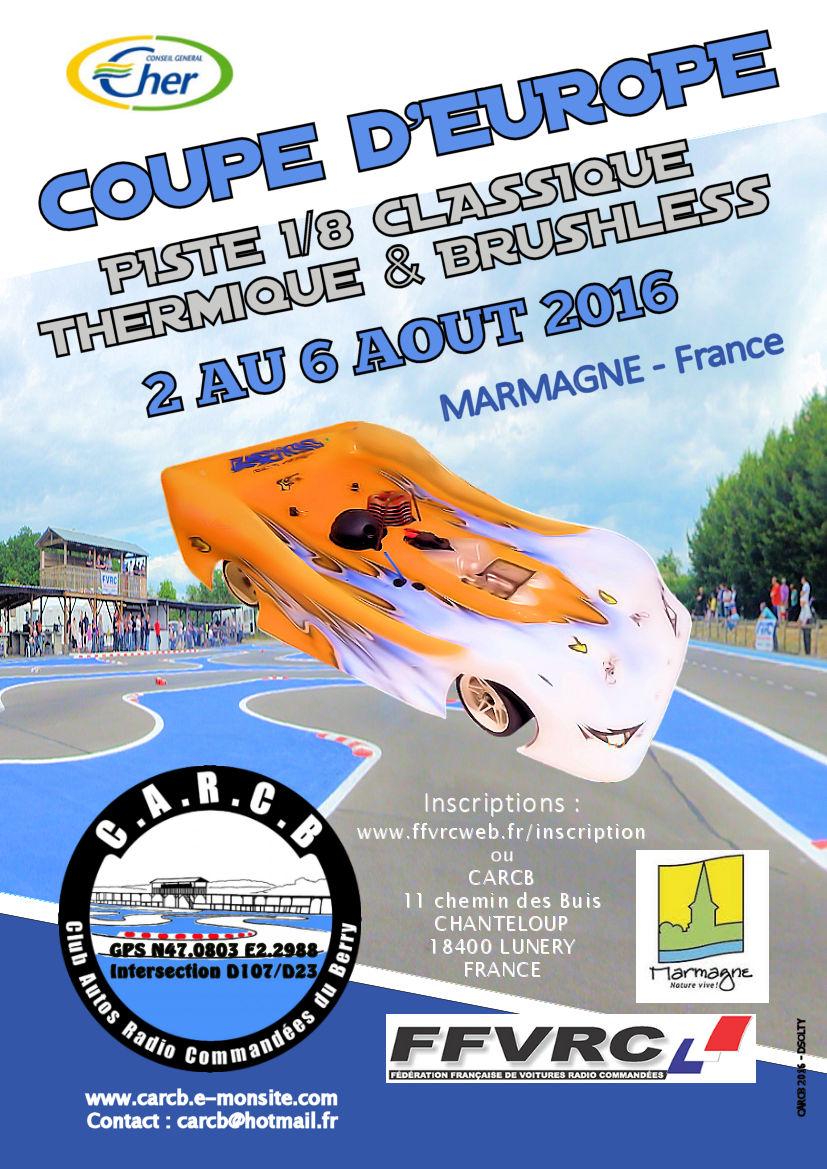 Coupe d europe piste classique carcb marmagne 08 2017